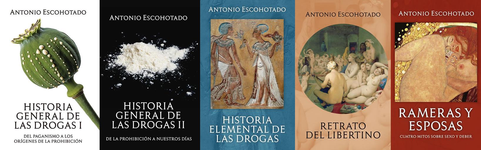 Editorial La Emboscadura - Libros de Antonio Escohotado